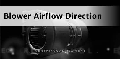 SPAL Blower airflow direction