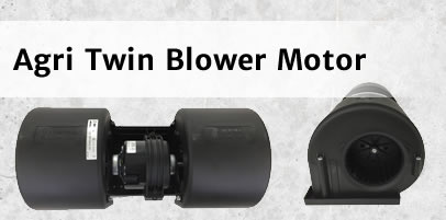 Agricultural Twin Blower Motor Assembly for Ford New Holland, Case IH, Deutz-Fahr, Landini and McCormick Machines