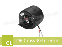 Claas Celtis Series to SPAL Aftermarket HVAC blowers cross reference