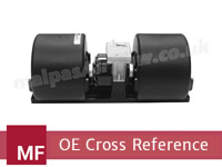 Massey Ferguson to SPAL Blower Motors Cross Reference