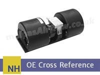 CX Combines (Models CX8030 / 8040 / 8050 / 8070 / 8080 / 8090) to SPAL Aftermarket HVAC blowers cross reference