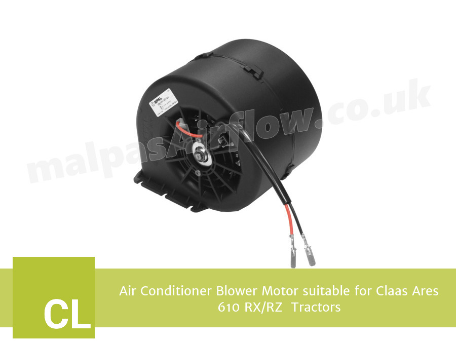 Air Conditioner Blower Motor suitable for Claas Ares 610 RX/RZ  Tractors (Single Speed)