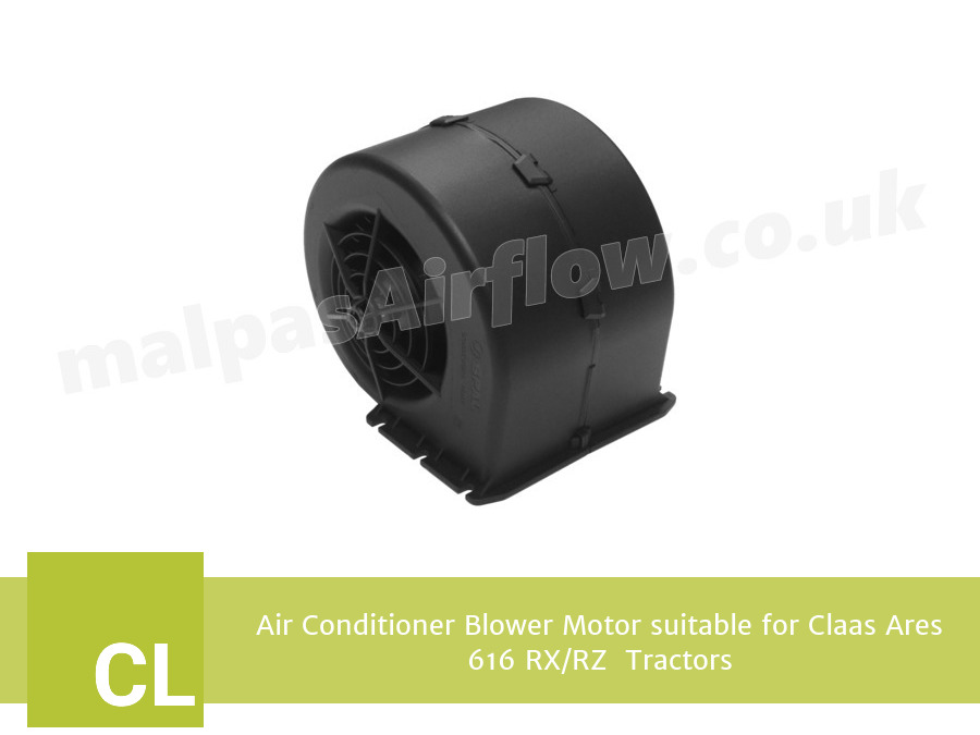 Air Conditioner Blower Motor suitable for Claas Ares 616 RX/RZ  Tractors (Single Speed)