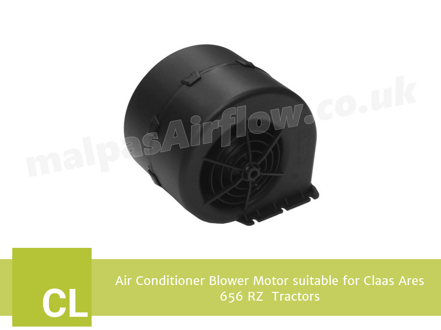 Air Conditioner Blower Motor suitable for Claas Ares 656 RZ  Tractors (Single Speed)