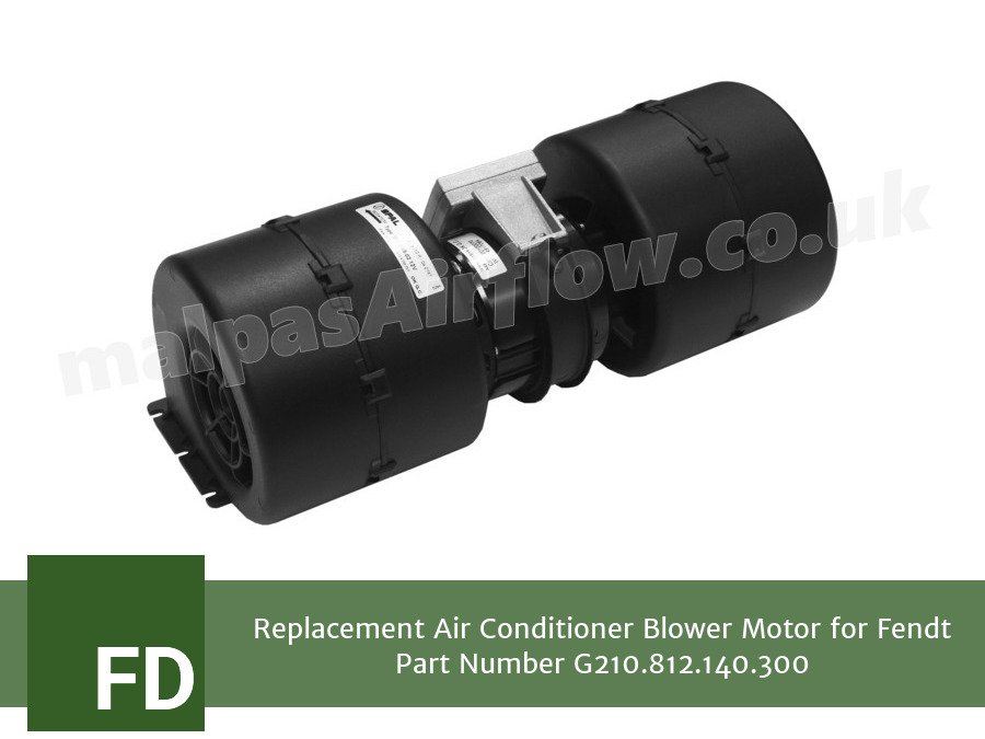Replacement Air Conditioner Blower Motor for Fendt Part Number G210.812.140.300