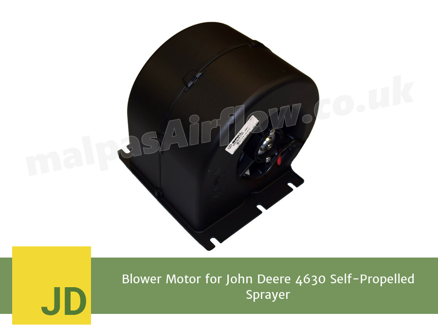 Blower Motor for John Deere 4630 Self-Propelled Sprayer (Single Speed)