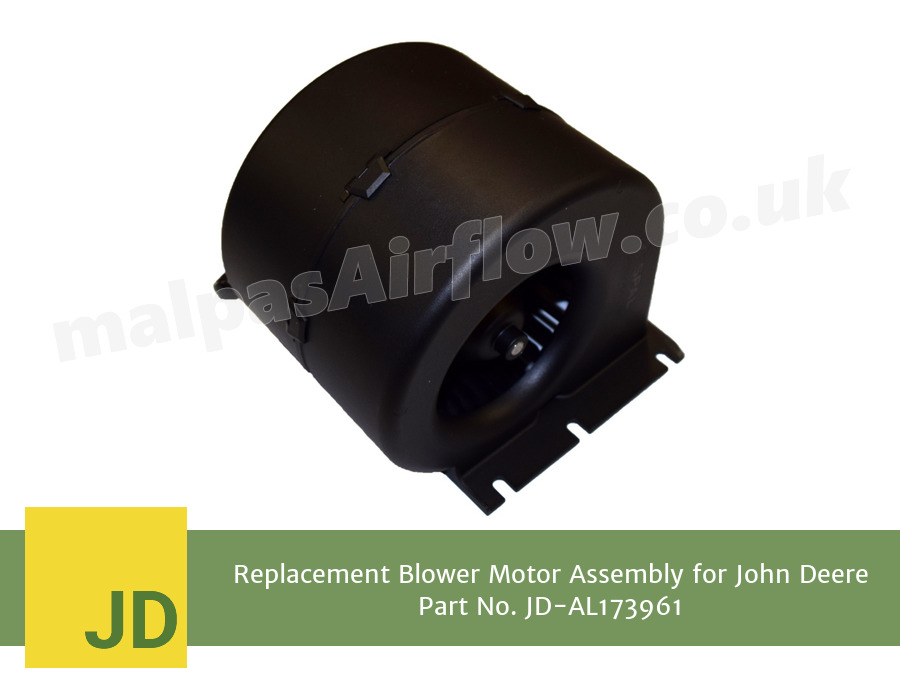 Replacement Blower Motor Assembly for John Deere Part No. AL173961 (Single Speed)