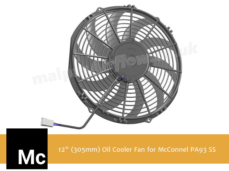 "12"" (305mm) Oil Cooler Fan for McConnel PA93 SS"