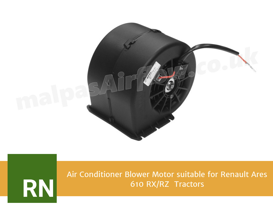 Air Conditioner Blower Motor suitable for Renault Ares 610 RX/RZ  Tractors (Single Speed)