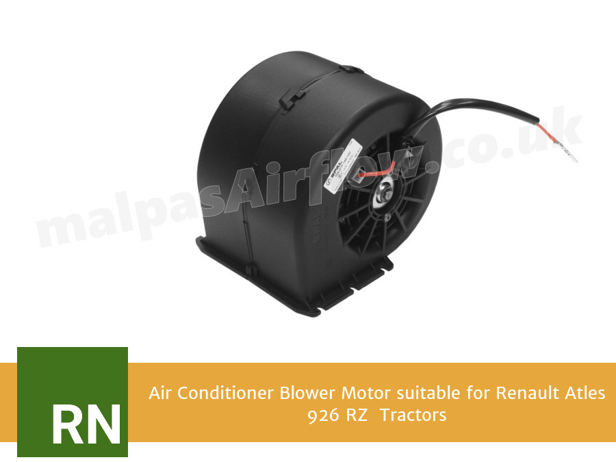 Air Conditioner Blower Motor suitable for Renault Atles 926 RZ  Tractors (Single Speed)