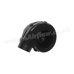 SPAL 260 cfm Single Blower 001-A53-03S (12v / with Fixing Bracket) (Single Speed)