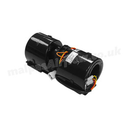 SPAL 360 cfm Double Blower 005-A45-02 (12v / 3 speeds with AMP Connector)