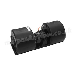 SPAL 684 cfm Double Blower 006-B45/B-22 (24v) (Single Speed) - view 6