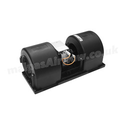 SPAL 543 cfm Double Blower 006-B46-22 (24v / 3 speeds) - view 3
