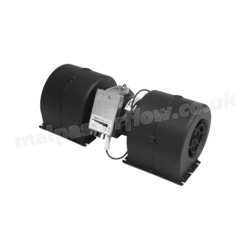 SPAL 543 cfm Double Blower 008-A54-02 (12v / 4 speeds)