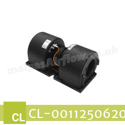 Replacement Air Conditioner Blower Motor for Claas Part Number 0011250620 - view 2