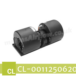 Replacement Air Conditioner Blower Motor for Claas Part Number 0011250620 - view 3