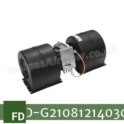 Replacement Air Conditioner Blower Motor for Fendt Part Number G210.812.140.300 - view 2