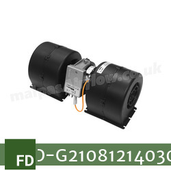 Replacement Air Conditioner Blower Motor for Fendt Part Number G210.812.140.300 - view 3