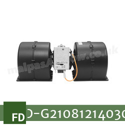 Replacement Air Conditioner Blower Motor for Fendt Part Number G210.812.140.300 - view 5