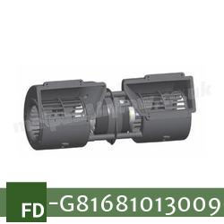Replacement Air Conditioner Blower Motor (Single Speed) for Fendt Part Number G816.810.130.090 (Single Speed)