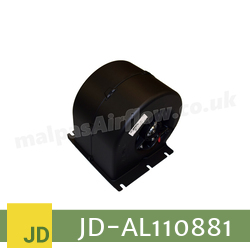 Replacement Blower Motor Assembly for John Deere Part No. AL110881 (Single Speed) - view 1