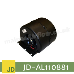 Replacement Blower Motor Assembly for John Deere Part No. AL110881 (Single Speed) - view 3