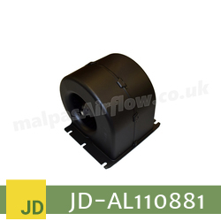 Replacement Blower Motor Assembly for John Deere Part No. AL110881 (Single Speed) - view 4