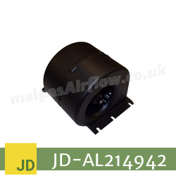 Replacement Blower Motor Assembly for John Deere Part No. AL214942 (Single Speed) - view 2
