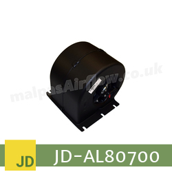 Replacement Blower Motor Assembly for John Deere Part No. AL80700 (Single Speed) - view 2