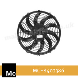 "Replacement 12"" (305mm) Fan for McConnel Oil Cooler (Fan:8402386 in Cooler Part No. 8402406) - view 2"