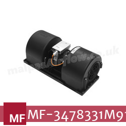 Replacement Air Conditioner Twin Blower Motor for Massey Ferguson Part Number 3478331M91 - view 1