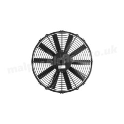 "SPAL 14"" (350mm)  Cooling Fan VA08-AP10/C-23S (12v / 956 cfm / Pushing)"