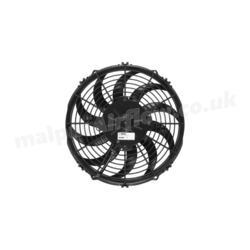 "SPAL 11"" (280mm)  Cooling Fan VA09-BP8/C-54A (24v  / 856 cfm / Pulling)"
