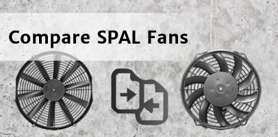 Compare axial cooling fans by performance, dimensions and features