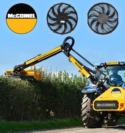 McConnel Hedge Trimmer Fans