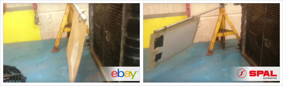 SPAL Radiator Fan vs cheap eBay fan