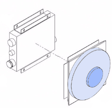 8402406 Cooler Assembly