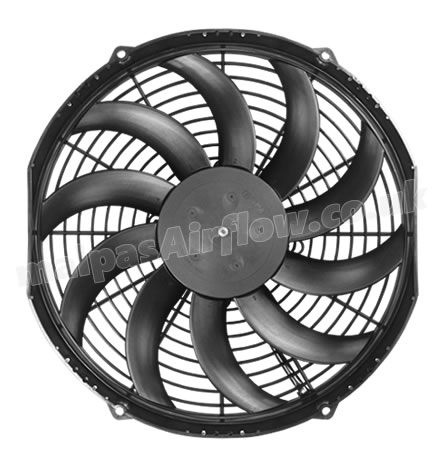 Oil Cooler Fan for McConnel Hedge Cutters